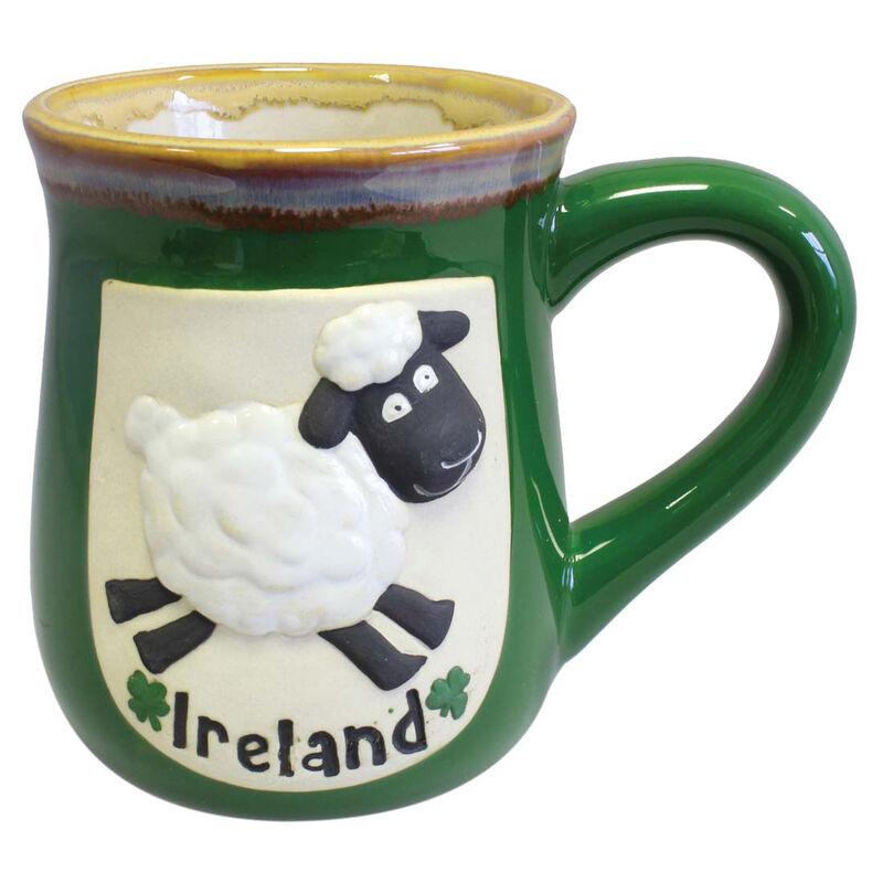 Ireland Pottery Mug With Sheep