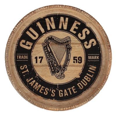 Guinness Official Merchandise St. James'S Gate Dublin Label Design Resin Magnet