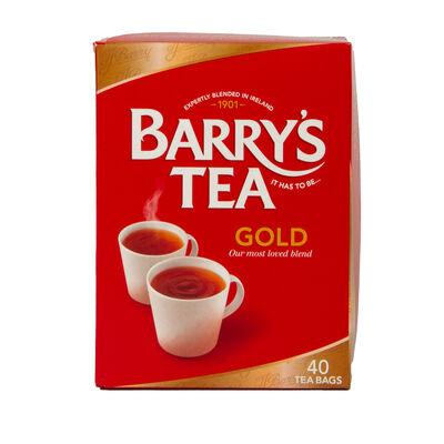 Barry's Gold Blend Tea 40 Pack, 125g
