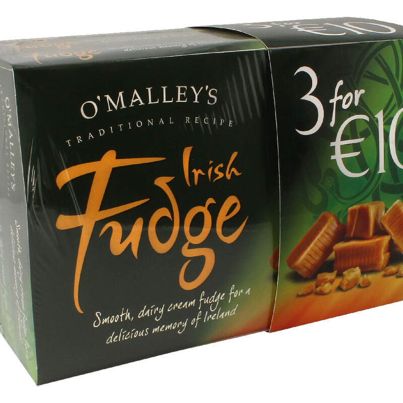 O'Malley's Irish Fudge 3 X 200G Boxes
