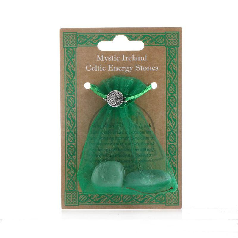 Mystic Ireland Celtic Energy Stones – Jade Bagged Stones