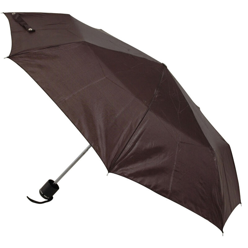 Ladies Fits In Purse Deluxe Supermini Umbrella  Black Colour