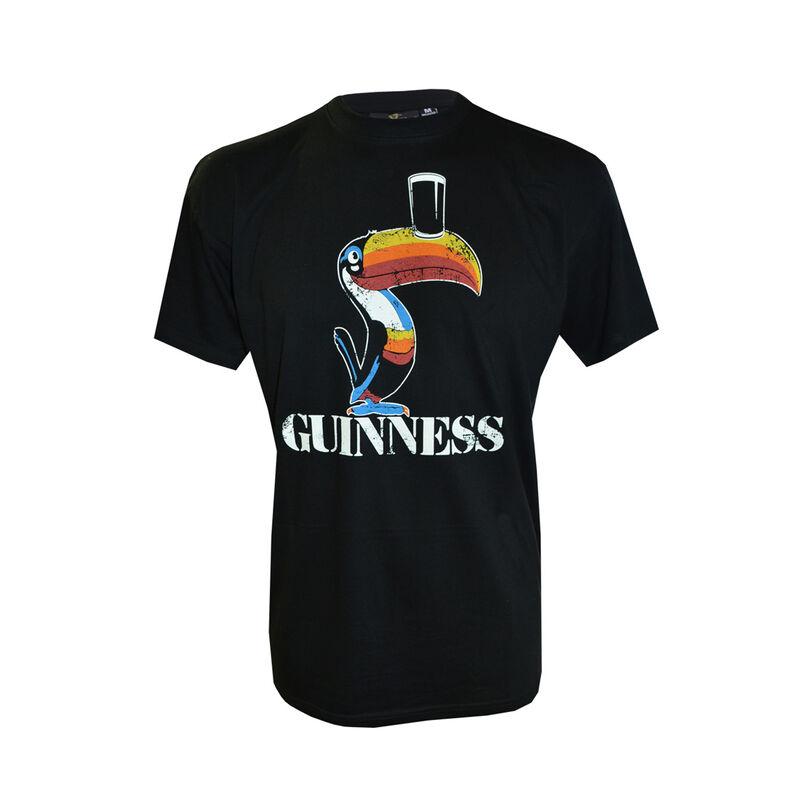 Guinness Toucan T-Shirt - Men's Black Guinness T-Shirt