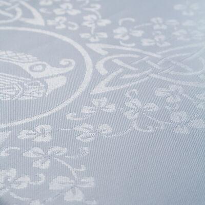 """Celtic Damask Linen Union Tablecloth  70"""" X 90"""" / 178 X 128 Cm"""