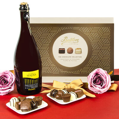 Prosecco & Butlers Chocolates Gift Set