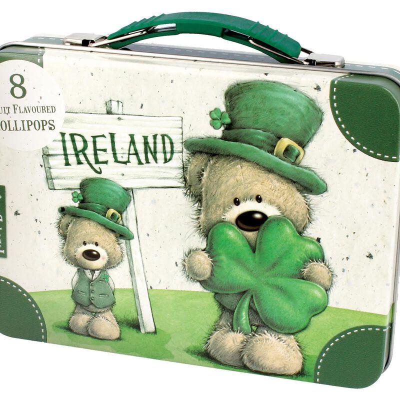 Paddy Bear Irish Designed 8 Pack Lollipops