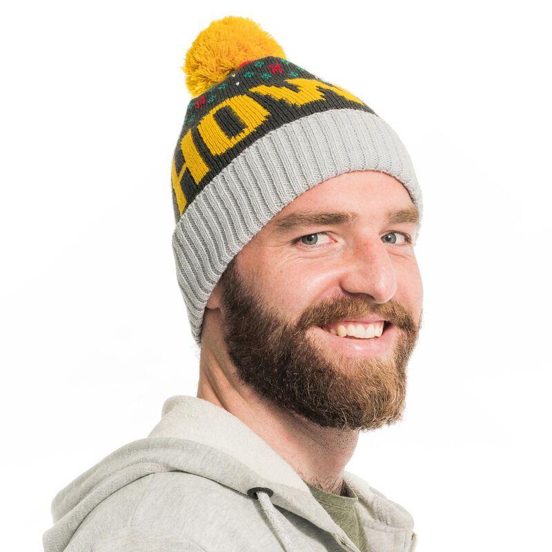 Irish Socksciety Bobble Hat With HOWYA Design