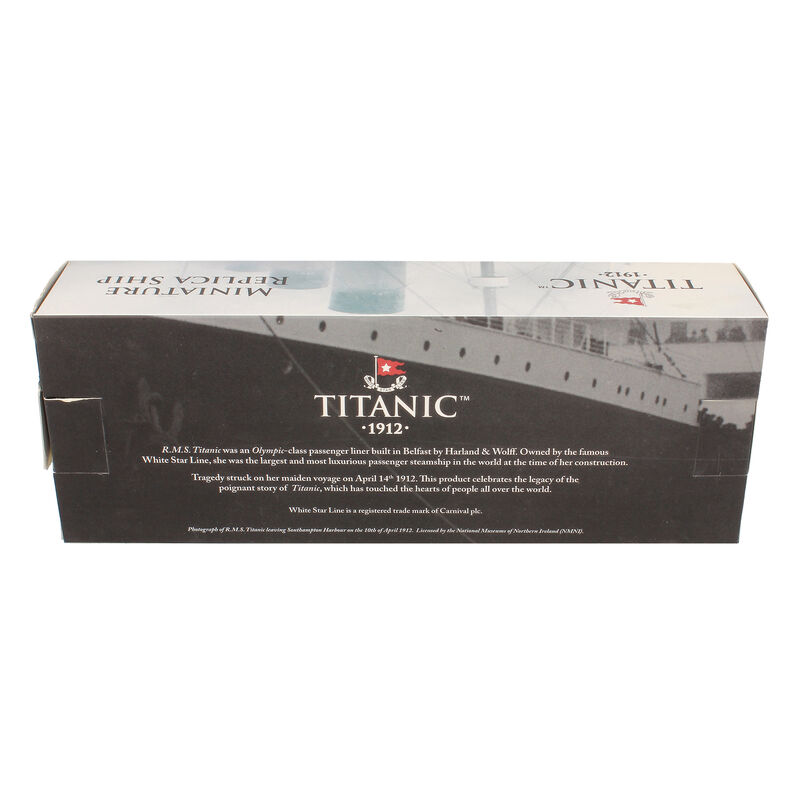 Titanic Made In Belfast 1912 Replica Ship Quality Scaled Model