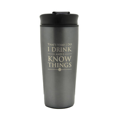 Game of Thrones 'I Drink And I Know Things' Travel Mug