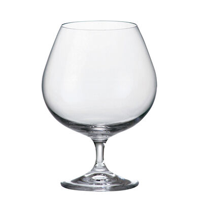 Tipperary Crystal Connoisseur Set of Two Brandy Glasses, 690ml