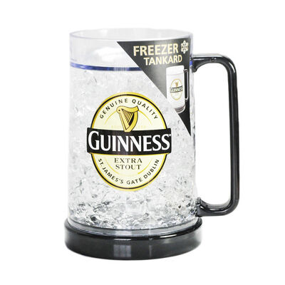 Plastic Freezer Tankard With Guinness Label