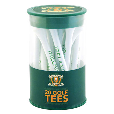 Exclusive To Carrolls Irish Gifts Irish Golf Tee Set  20 Pieces
