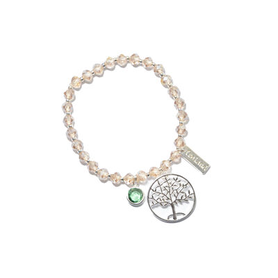 Tree Of Life Celtic Charm Designed Stretch Bracelet