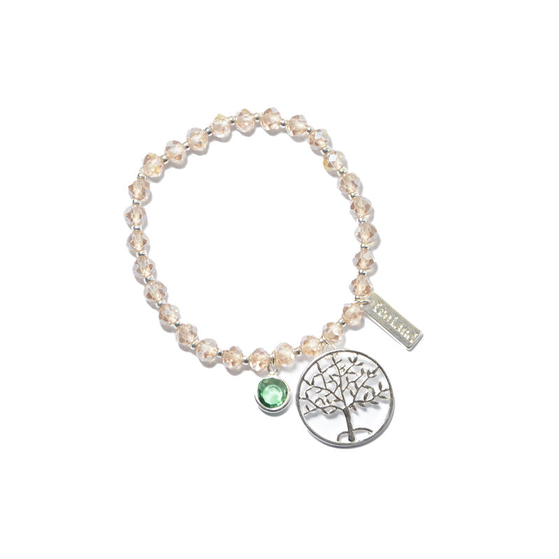 Tree Of Life Celtic Charm Designed Stretch Bracelet