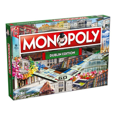Explore The Many Wonders Of Dublin –  Monopoly Dublin Edition