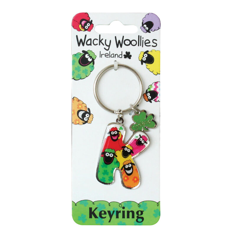 Wacky Woollies Charm Keychain