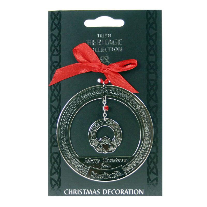 Irish Heritage Christmas Decoration Claddagh