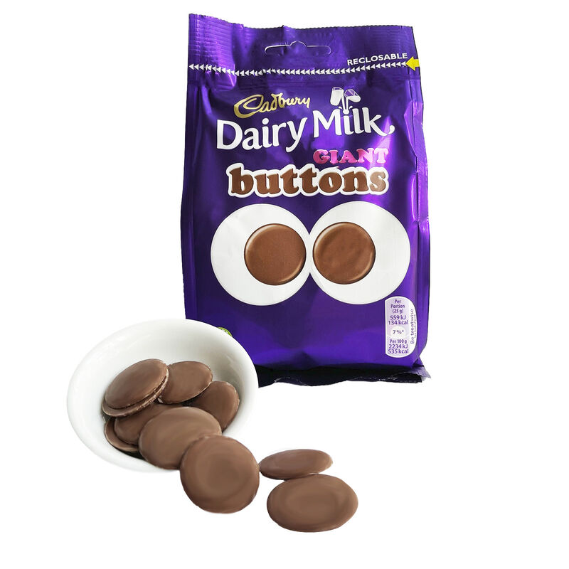 Cadburys Giant Chocolate Buttons Bag, 119g