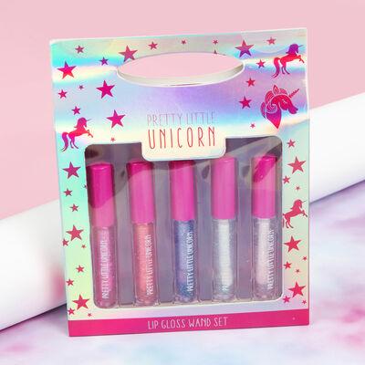 Pretty Little Unicorn Lip Gloss Wand Set