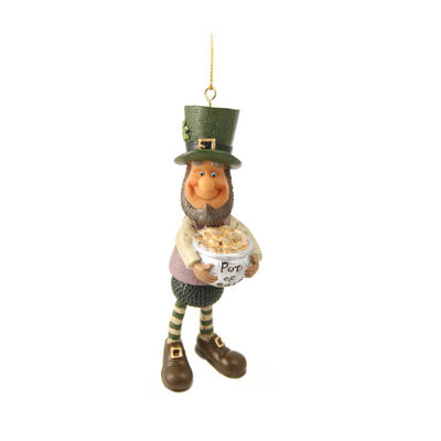Finnian Hanging Decoration - Pot Of Gold Wobbler