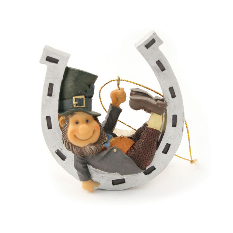 Finnian Hanging Decoration - Little Man On A Horseshoe