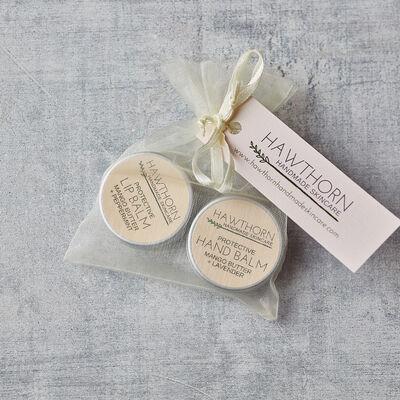 Hawthorn Handmade Skincare Hand & Lip Gift Bag 15ml