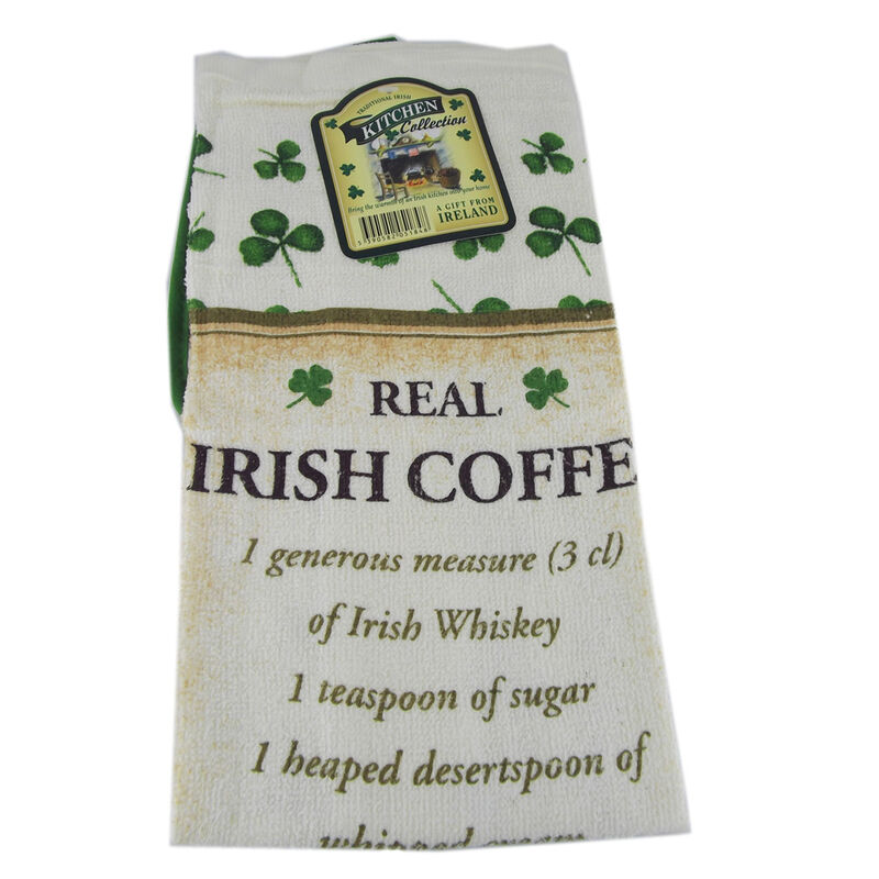 Real Irish Coffee T-Towel and Pot Holder