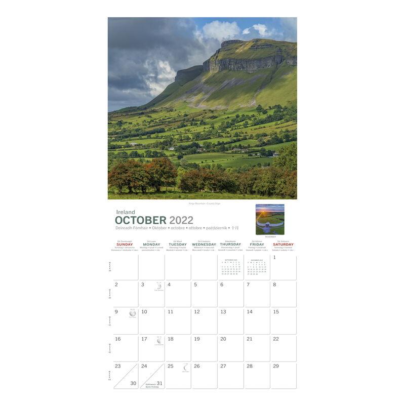 A5 Mystical Ireland 2022 Calendar by Liam Blake