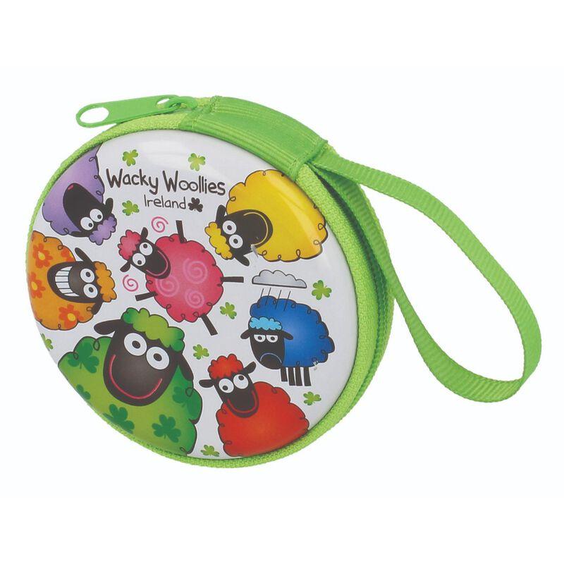 Wacky Woollies Round Coin Purse