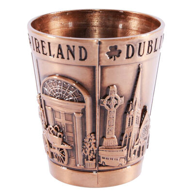 Metal Dublin College Shot Measurement 1.5 OZ  Bronze Colour