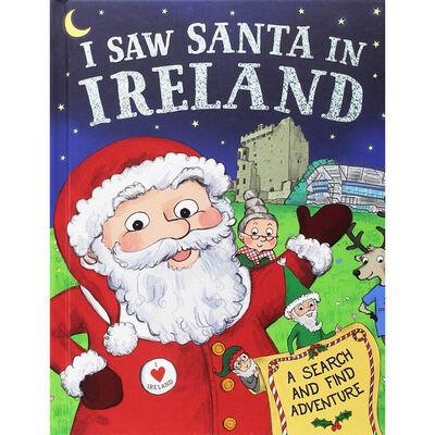 I Saw Santa in Ireland Children's Book