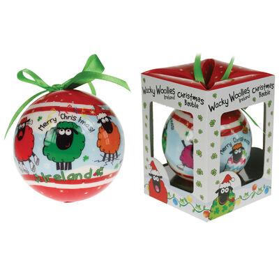 Wacky Woolies Weihnachtsdekoration zum Aufhängen