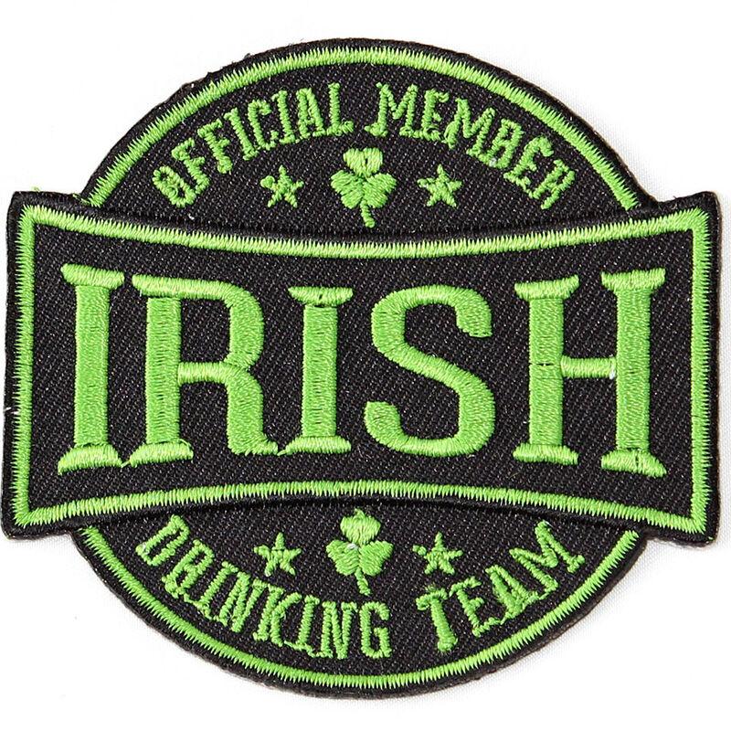 Irish Drinking Team Varsity Patch