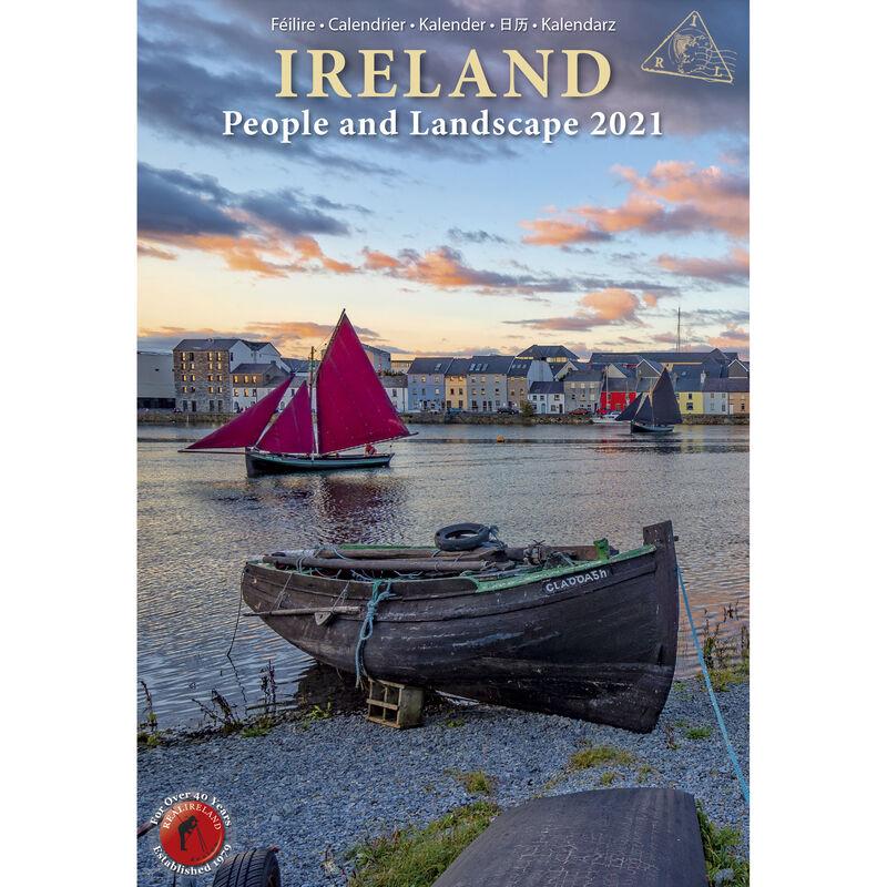 Slim Ireland People & Landscape Calendar 20201 by Liam Blake