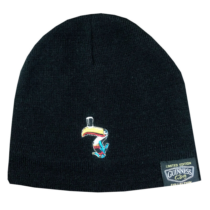 Limited-Edition Guinness Gilroy Collection Toucan Logo Hat Black Colour