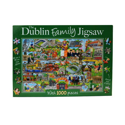 The Dublin Family 1000 Piece Jigsaw