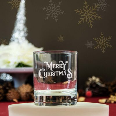 Personalised Whiskey Glass With Engraving and Gift Box