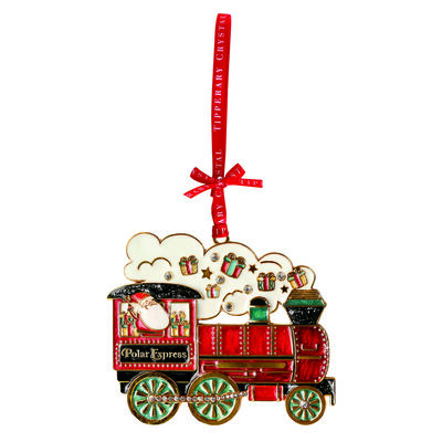 Tipperary Crystal Decoration with Sparkling Polar Express