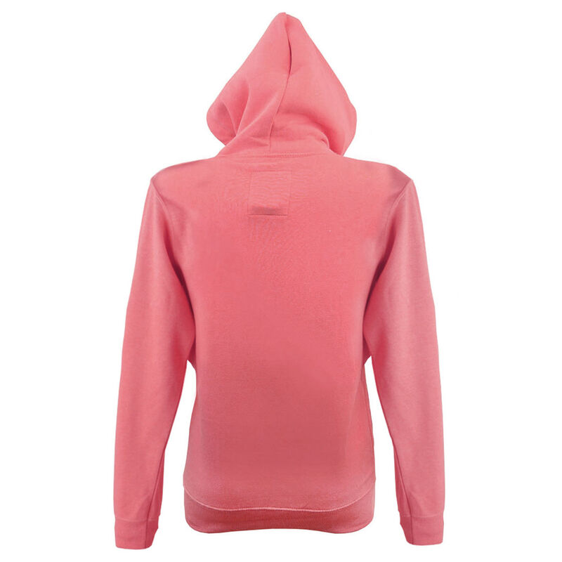 Pullover Hoodie With Dublin Ireland Est 988 Stars Print  Coral Pink