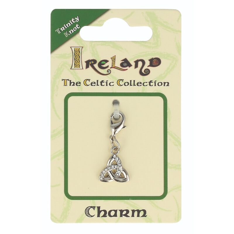 Celtic Collection Small Metal Trinity Knot Charm