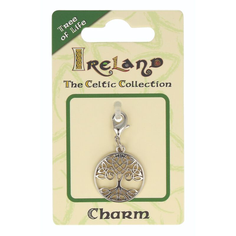 Celtic Collection Small Metal Tree Of Life Charm