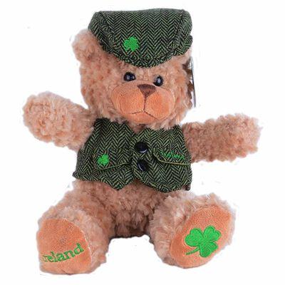 Brown Bear In Waistcoat And Flat Cap