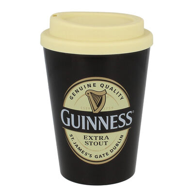 Guinness Label Travel Mug