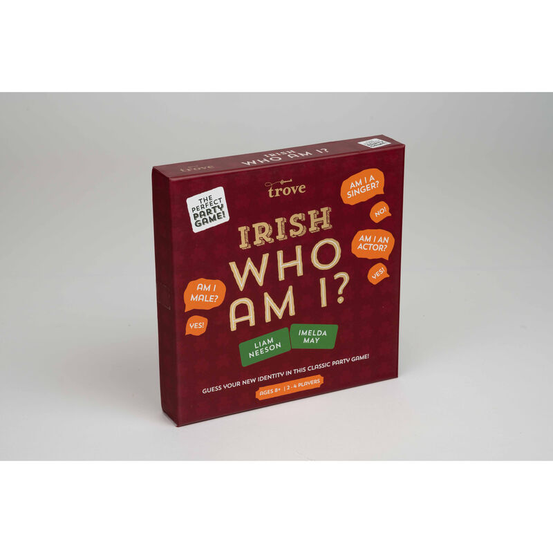 Irish Who Am I? Quiz Set Classic Identity Guessing Party Game