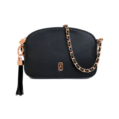 Tipperary Crystal The Cannes Shoulder Bag, Black Colour