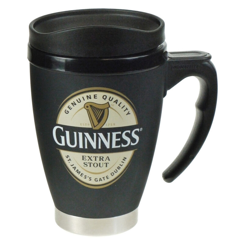 Guinness Label Travel Mug - Small