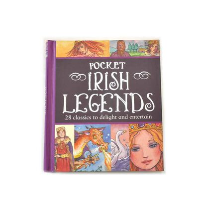 Pocket Sized Book Of 28 Classic Stories Of Irish Legends  For Adult And Children