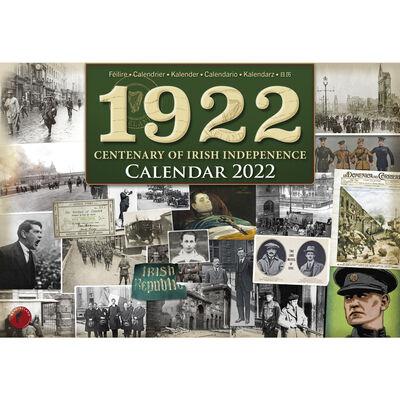 A4 1922 Centenary of Irish Independence 2022 Calendar