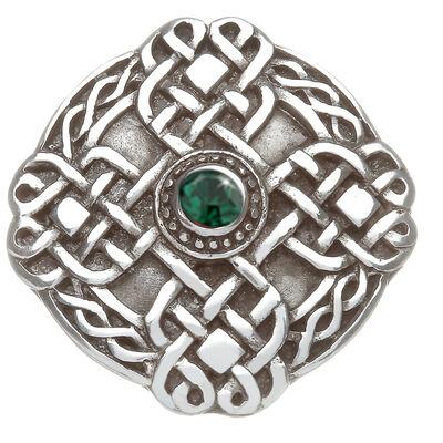 Tara-Brosche aus Zinn mit keltischem Kreis