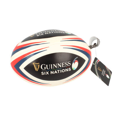 Guinness Official Merchandise Six Nations Soft Rugby Ball
